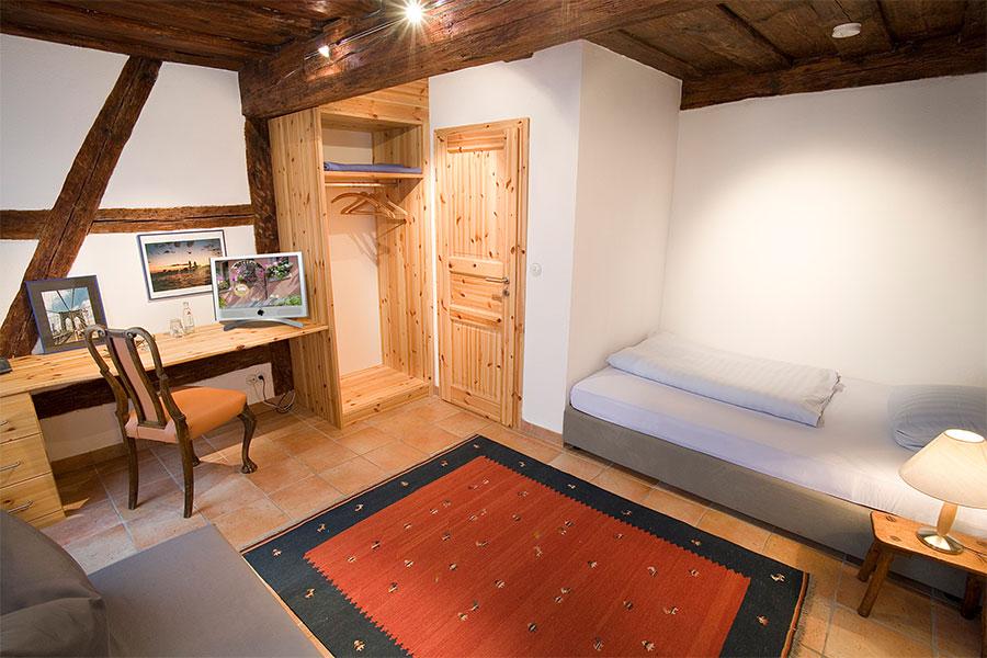 Bild eines Einzelzimmers